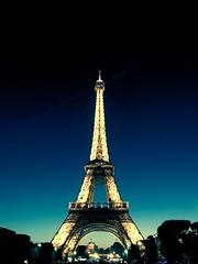 Eiffel (ankurgupta17) Tags: eiffel paris france summer night