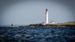 The High Light (MBDGE) Tags: orkney light lighthouse pov blue white beacon bouy sea hoy sound windmill canon70d canon nlb