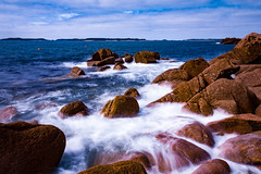IOS-13 (JamesHeadPhotography) Tags: long exposure scilly rocks water nd filter waves