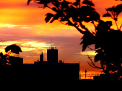 New York Sunset (dimaruss34) Tags: newyork brooklyn dmitriyfomenko image sky clouds sunset summer