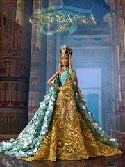 Cleopatra (davidbocci.es/refugiorosa) Tags: cleopatra egyptian egypt barbie mattel fashion doll muñeca refugio rosa david bocci ooak pazette