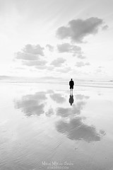 Reflexiones (Mimadeo) Tags: thinking thoughtful male pensive concept beach man boy person silhouette lonely highkey high key water ocean sea alone sand sky loneliness solitude lifestyle reflection independent freedom free independence landscape beautiful looking black white blackandwhite outdoors nature outdoor view