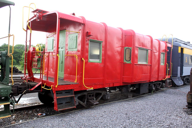 B&O Bay Window Caboose C2490