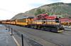 DSNG 1 - Durango CO - 08/07/15 (RockAndRail) Tags: dsng 1 50ton hotshot1 ge durangoco built1957 exarkansaslimestonerr