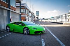 Huracan (fernando_gm) Tags: huracan lambo lamborghini car supercar track madrid circuito jarama green verde colour color fujifilm fuji racing