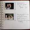 Wedding Guestbook (Bristol Polaroid Photographer) Tags: llangoedhall welshwedding ukwedding guestbook handwriting