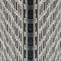 Flatiron Flip (andycruxton) Tags: newyork flatiron escher architecture photoshop reflection