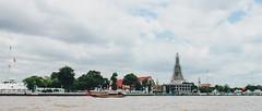 _MG_1250 (WayChen_C) Tags: thailand bangkok chaophrayariver river wat watarun architecture ประเทศไทย บางกอก กรุงเทพมหานคร แม่น้ำเจ้าพระยา วัดอรุณ 泰國 曼谷 昭披耶河 湄南河 黎明寺 鄭王廟 畢業旅行 thaigraduationtrip