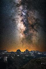 in·fin·i·tes·i·mal (Matt Payne Photography) Tags: arrowpeak colorado landscape milkyway mountains night nightscape sanjuanmountains sony5518 sonya7r2 stars vertical vestalpeak