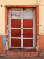 3-6-7 colorful street door (Arturo Nahum) Tags: putaendo valparaisoregion chile arturonahum doors puertas