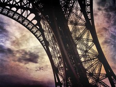 Eiffel Lace (Stuart D Robertson) Tags: paris eiffeltower architecture texture