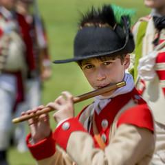 The Fife Player (gimmeocean) Tags: fife fifeplayer boy musician thebattleofshorthills battleofshorthills shorthills scotchplains newjersey nj reenactment americanrevolution reenactor oakridgepark