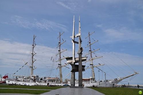 The 4th mast of Dar Młodzieży