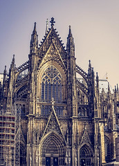 Cathedral of St. Peter in Cologne, Germany (mary_hulett) Tags: cologne rivercruise travel europe viking rhineriver church cathedralofstpeter colognecathedral 2017