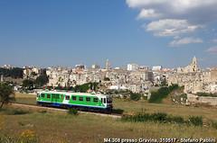 Fiat and Gravina (di Stefano ©Praz Paolini) Tags: fal fcl fiat gavina m4 railcar