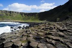Giant's Causeway, Northern Ireland (Andrew Myatte) Tags: giant giants causeway basalt column mountain sea ocean valley northern ireland united kingdom