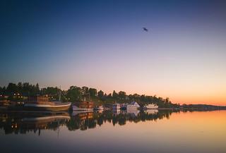 Morning light at Lappeenranta, Finland