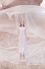 Fluid space (innamosina) Tags: russia girl levitation fly pink beautiful plastic conceptual
