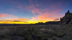 Needles Sunset (haas.evan) Tags: purple rock canyonlandsnationalpark needlesdistrict utah