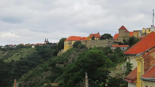 Pohled z ulice U Brány
