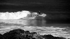 Racing the tide (.KiLTRo.) Tags: cobquecura regióndelbíobío chile kiltro wave beach ocean sea water coast monocromático playa océano mar agua costa shoreline surf surfing rider surfer sport extreme
