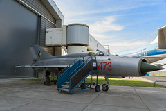 MIG 21 from DDR (George Pachantouris) Tags: aviodrome themepark airplane museum boeing 747 fokker plane air fighter helicopter cockpit dri dr1