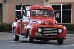 1949 Ford F-1 pickup truck (Custom_Cab) Tags: hht 1949 ford f1 pickup truck texaco garage service red pick up