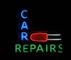 Auto Motion, Car repairs, St Louis Park, MN (Debora Drower) Tags: automotion carrepairs mn neonsign stlouispark neon night