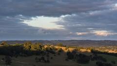 lit ridge (dustaway) Tags: landscape lateafternoon afternoonlandscape wilsonsrivervalley tullera northernrivers nsw australia australianlandscape sunlitground ridgeline valley cloudy overcast sky