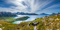 Mountain view (John A.Hemmingsen) Tags: trehørningen kvaløya tromsø troms vengsøy landscape nordnorge fujifilm xt2 1024 panorama