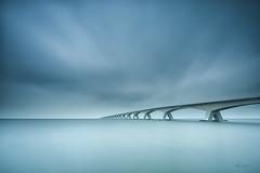 endless (Just me, Aline) Tags: 201706 9ndhg alinevanweert holland leefilter leefilters nederland netherlands zeeland zeelandbrug bigstopper bridge brug langesluitertijd longexposure sea water zee le