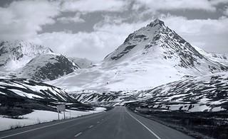 Mountain Road - Alaska
