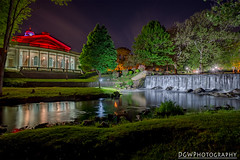 Milford City Hall (dgwphotography) Tags: milfordct falls cityhall reflection waterfall hdr 1735mmf28d nikond600