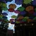 colorful umbrellas - Keene, NH