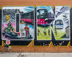 "Detail of ""I Love The Bronx"" Mural, Foxhurst, New York City (jag9889) Tags: 2017 20170605 allamericacity bronx bus detail foxhurst graffiti icecream love mta metropolitantransportationauthority mural ny nyc newyork newyorkcity outdoor painting simpsonstreet streetart tagging tatscru thebronx usa unitedstates unitedstatesofamerica vendor wall jag9889 us bg183 bio graffitiartist how muralist nosm nicer themuralkings"