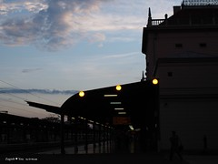 Zg train station vignette
