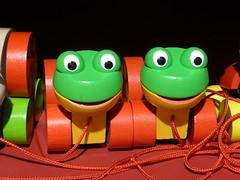 """""""Smile on Saturday! :)  P1020259 (amalia_mar) Tags: smileonsaturday toys green orange tinytoys"""