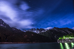 Levanna from Ceresole Lake (Ettore Trevisiol) Tags: ettore trevisiol nikon d7200 nikkor 18 70 d300 tokina 11 20 55 200 gran paradiso national park mountain landscape snow night stars
