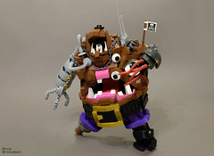 Captain Bashface (Also known as N... Mister N) Tags: lego space pirate
