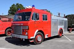 Warwick County Fire Brigade - SKV426R (matthewleggott) Tags: eden camp 2017 fspg fire service preservation group brigade engine appliance skv426r warwick county dennis