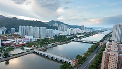 Shing Mun River (hodgelau) Tags: fx d750 nikon river mun shing ricer bridge sky 河 天 城門河 城門 香港 沙田 shatin kong hong hongkong hk