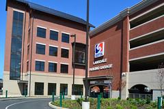 Lansdale_Station_Garage_entrance (Montgomery County Planning Commission) Tags: septa montgomerycountypa lansdaleborough garage parking trainstation