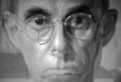 AMERICAN GOTHIC (LitterART) Tags: americangothic art painting museum portrait portraiture grantwood chicago artinstituteofchicago kunstwerk farmer farm bauer pinhole drbyronmckeeby byronmckeeby kellogs cornflakes amerika kunst americanart 1930 dentist