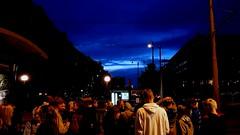 Crowd (blondinrikard) Tags: korsvägen göteborg night natt kväll people crowd street sweden