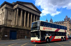 Aintree Enterprise (North West Transport Photos) Tags: queensquare runningday bus northwestvehiclerestorationtrust nwvrt kirkby 544 stgeorgeshall limestreet liverpool ensignbus ensign 1001 xl66acl bcienterprise enterprise bci helmsofeastham acl aintreecoachlines aintree