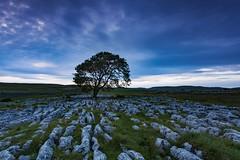 Malham Cove Sundown (Carl Mick) Tags: night rocks landscape robferrol travel yorkshire dales ngc penninesway leefilters leaves trees clouds davehill