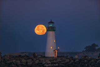 Walton Moonset