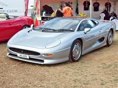 713 Jaguar XJ220 (1994) (robertknight16) Tags: jaguar british 1990s xj220 supercar twr helfet silverstone jag220