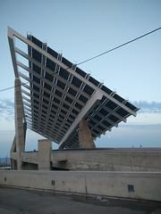 el Fórum (agu²!) Tags: lugares barcelona españa spain espanya placas solares estructura structure cielo sky ciel