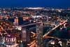 NYC at Night (SpiderZhou) Tags: nyc oneworldobservatory night city brooklyn 纽约 城市 夜景 布鲁克林桥 bridge 世贸